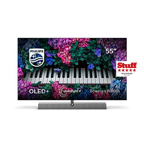 Philips Ambilight TV 55OLED935/12 OLED TV 55 Pulgadas con Sonido de Bowers & Wilkins...