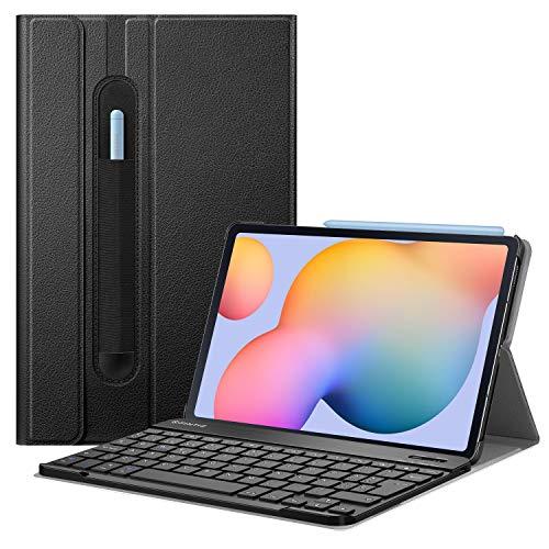 FINTIE Funda con Teclado Español Ñ para Samsung Galaxy Tab S6 Lite 10.4' 2020...