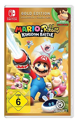 Mario & Rabbids Kingdom Battle - Gold Edition - Nintendo Switch [Importación...