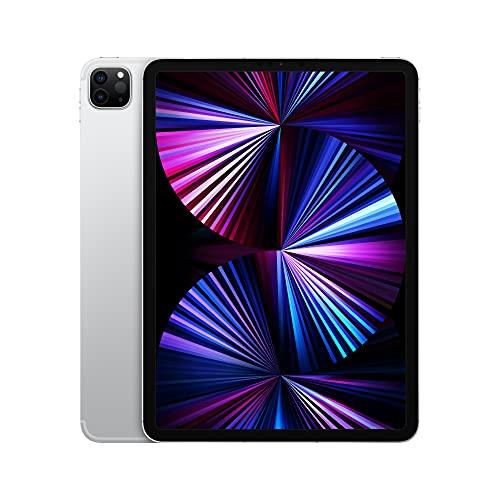 2021 Apple iPadPro (de 11Pulgadas, con Wi-Fi + Cellular, 2TB) - Plata...