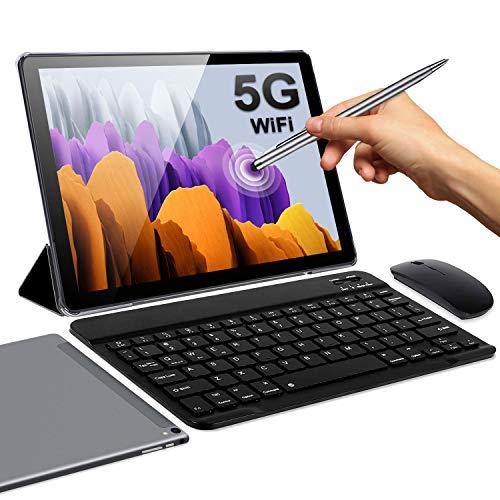 5G Tablet 10 Pulgadas 4GB de RAM 64GB de ROM Android 10 Certificado por Google GMS...