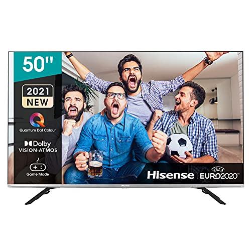 Hisense 50E76GQ QLED 2021 Gaming Series, 50 pulgadas 4K UHD Dolby Vision HDR Smart TV...