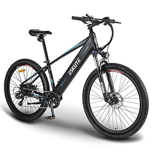 ESKUTE Bicicleta Eléctrica de Montaña 'Voyager' 27,5'' E-Bike MTB Pedal Assist,...