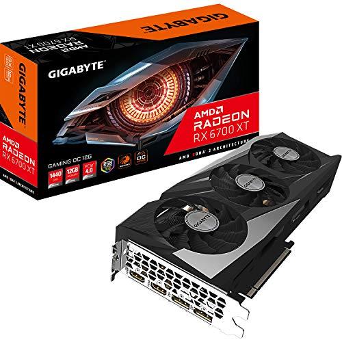 Gigabyte Technology Radeon RX 6700 XT Gaming OC 12G AMD 12 GB GDDR6,...