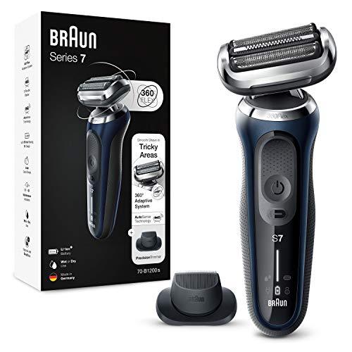 Braun Series 7 Afeitadora Eléctrica Hombre, Máquina de Afeitar Barba con...