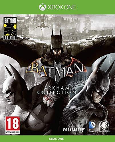Batman: Arkham Collection - Edición Exclusiva Amazon (Incluye steelbook y skin de...