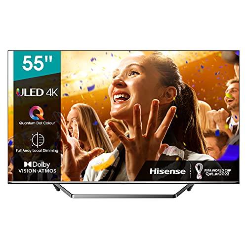 Hisense 55U7QF - Smart TV 55', ULED 2020, Resolución 4K, Quantum Dot, FALD, Dolby...