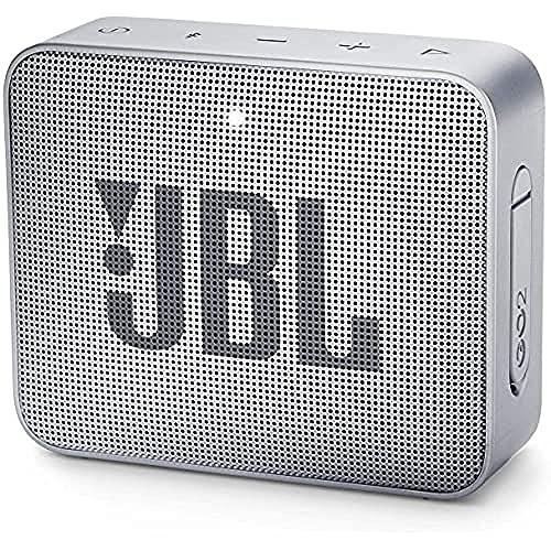 JBL GO 2 - Altavoz inalámbrico portátil con Bluetooth, resistente al agua (IPX7),...